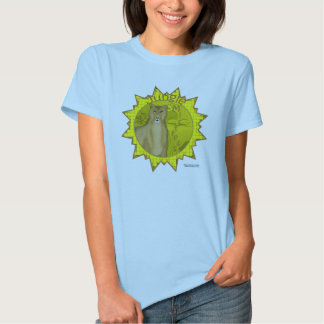Jungle Mistress Ladies Babydoll Tshirt