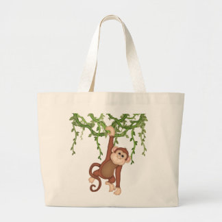 Jungle Monkey tote bag