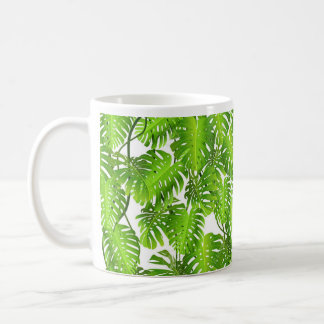 Jungle Mug, Palm Leaf Coffee Mug