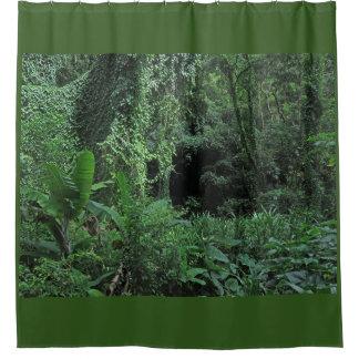 Jungle Palm Shower Curtain