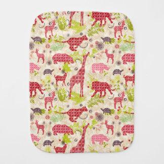 Jungle Paradise Baby Burp Cloth