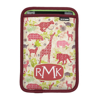 Jungle paradise | Monogram Sleeve For iPad Mini