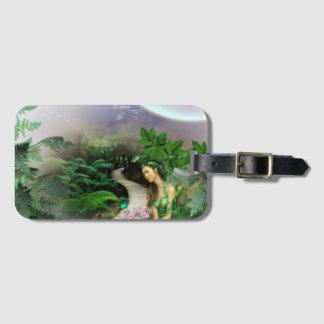 Jungle Reflection Luggage Tag