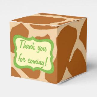 Jungle safari animal cute favors boxes wedding favour boxes