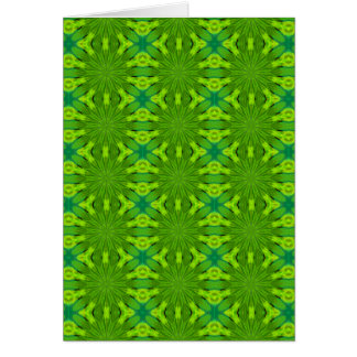 Jungle safari green, note card