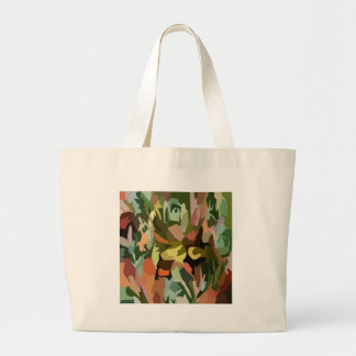 Jungle Scrabble Tote Bag