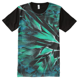 Jungle sniffing (jade-stone) All-Over print T-Shirt