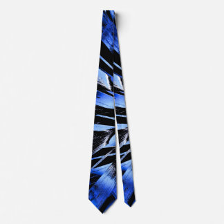 Jungle sniffing (sapphire) tie