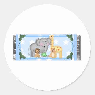Jungle Round Sticker