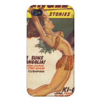 Jungle Stories Pulp Cover 1947 -Vintage Covers For iPhone 4