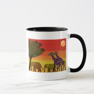 Jungle Sunset Mug