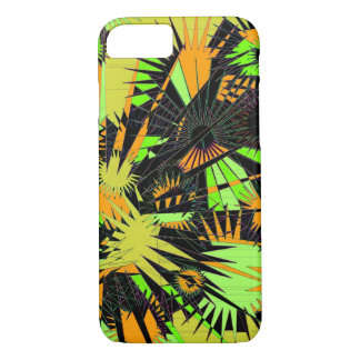 Jungle Supernova green yellow phone case