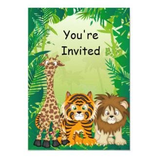 Jungle Birthday Invitations & Announcements   Zazzle.com.au