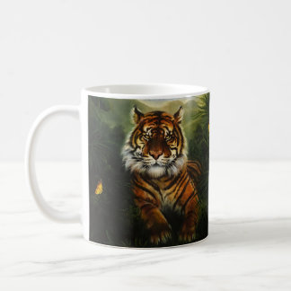 Jungle Tiger Landscape Mug