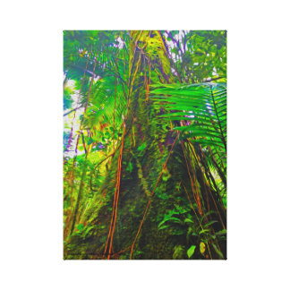 Jungle Tree Canvas Print