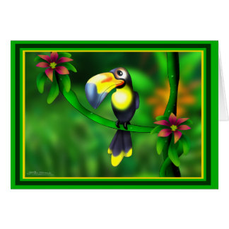 jungle Tucan Card