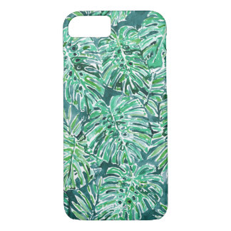 JUNGLE VIBES Green Tropical Monstera Pattern iPhone 8/7 Case