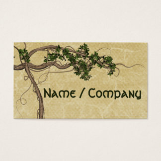 Jungle Vines Business Card