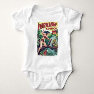 Jungle Woman Baby Bodysuit