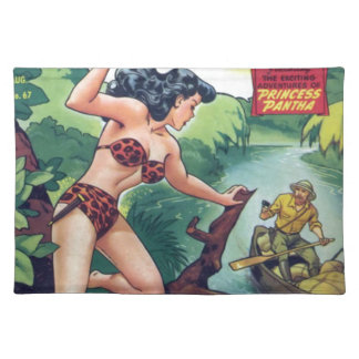 Jungle Woman Placemat
