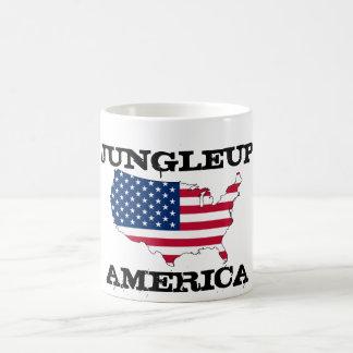 Jungleup America Basic White Mug