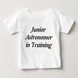 Junior Astronomer Tshirt for Kids Science Tee