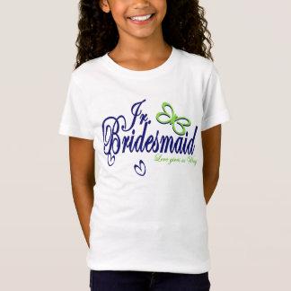 Junior Bridesmaid Butterfly Love T-Shirt