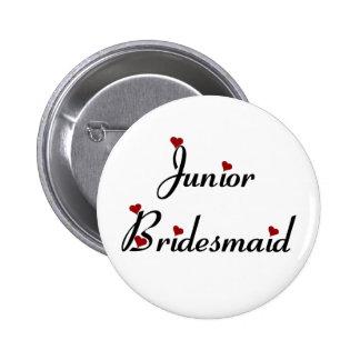 Junior Bridesmaid button
