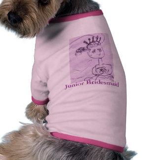 Junior Bridesmaid Doggie Tee Shirt