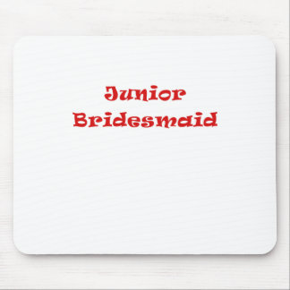 Junior Bridesmaid Mouse Pad