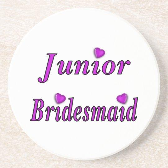 Junior Bridesmaid Simply Love Coaster