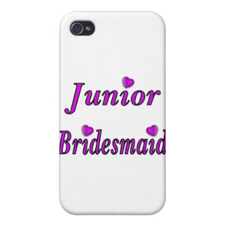 Junior Bridesmaid Simply Love iPhone 4 Cases