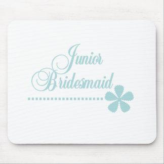 Junior Bridesmaid Teal Elegance Mouse Pad
