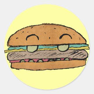 Junior Burger Sticker