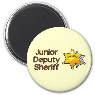 Junior Deputy Sheriff Magnet