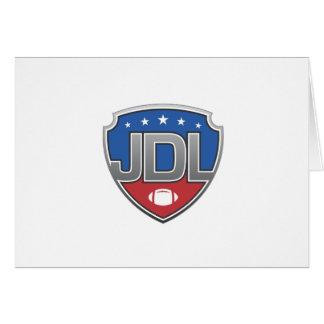Junior Development Leage Football Greeting Card
