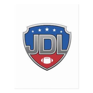 Junior Development Leage Football Postcard