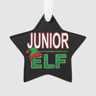 Junior Elf | Team Elf Christmas Holiday Family | Ornament