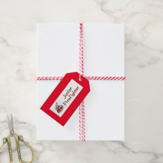 Junior Firefighter Gift Tags