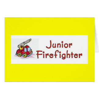 Junior Firefighter Invitation