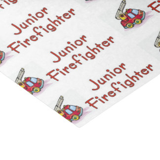Junior Firefighter Tissue Paper