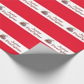 Junior Firefighter Wrapping Paper