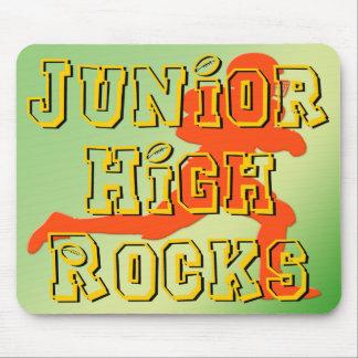 Junior High Rocks - Football Mouse Pad