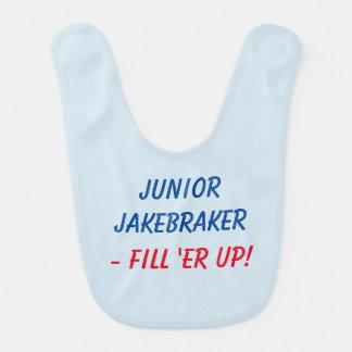 Junior Jakebraker baby bib