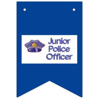 Junior Police Officer Bunting