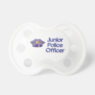 Junior Police Officer Pacifiers