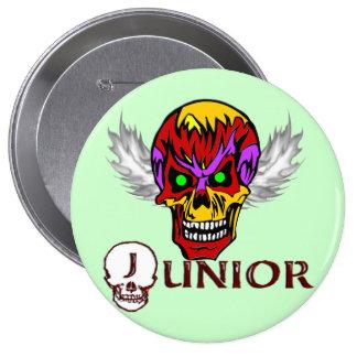 Junior - Skull Wings Pins