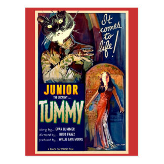 Junior the Uncanny Postcard