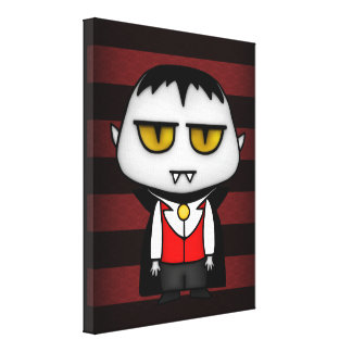 Junior Vampire Gallery Wrapped Canvas