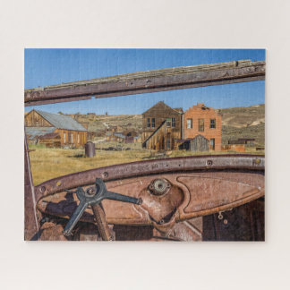 Junk Car View of Bodie Jigsaw Puzzle